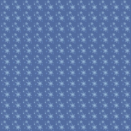Snowflake paper for digital scrapbooks.