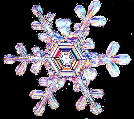 A digital snowflake for scrapbooking.