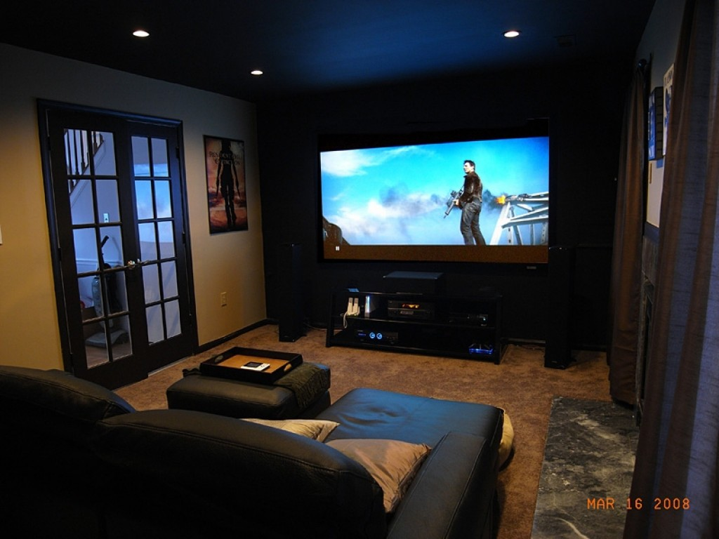 Which is better for movies gaming a tv or a projector Design your own tv room