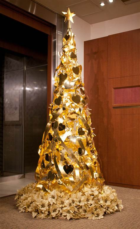 The most expensive Christmas tree