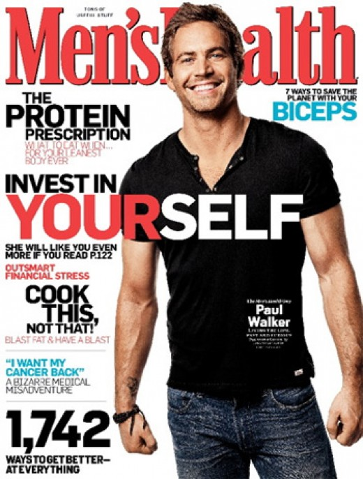 Men's Health Magazine Cover