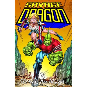 The Savage Dragon's new era continues with his Son Malcom taking over from his Father in the long running comic book from Veteran comic book artists and writer Erik Larsen.