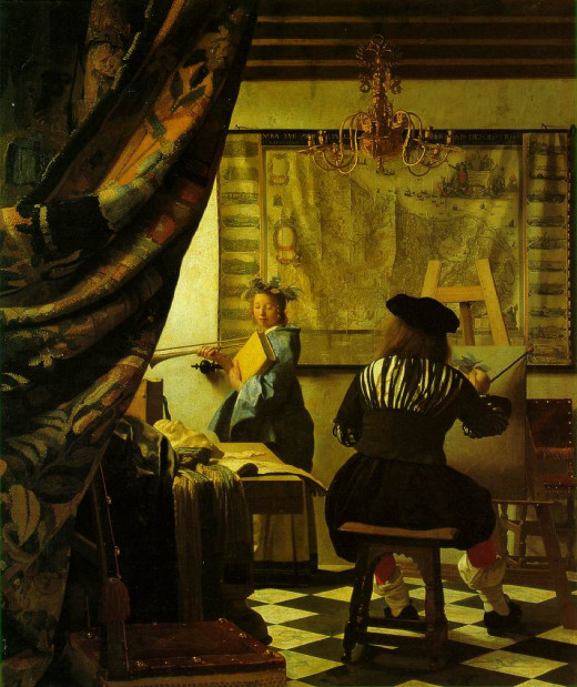 """The Art of Painting"" by Vermeer"