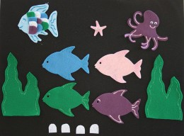 The Rainbow Fish Felt Board Story