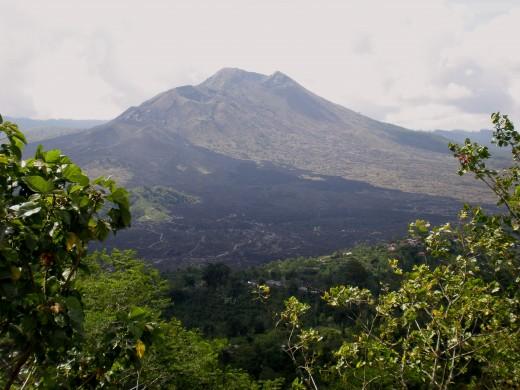 """Gunung Batur"" or Mount Batur (1717m); Bali, Indonesia."