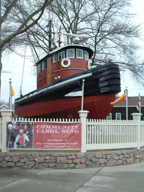 Photos of the Kingston II Tugboat.