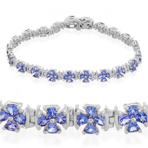 Tanzanit Bracelet