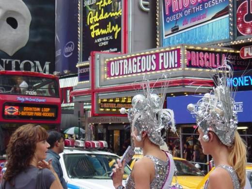 Vibrant Times Square