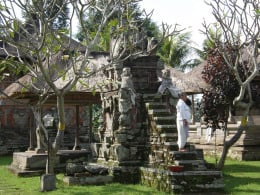 Pura Penataran Sasih, State Temple of the Pejeng Kingdom; Ubud, Bali, Indonesia.