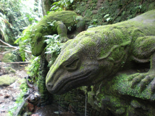 Monkey Forrest Sanctuary (Mandala Wisata Wanara Wana); Ubud, Bali, Indonesia.