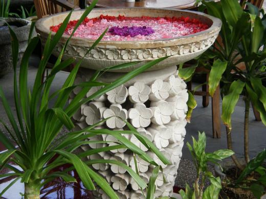 Art is everywhere. Ubud, Bali, Indonesia.