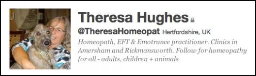 Follow Theresa twitter.com/#!/TheresaHomeopat