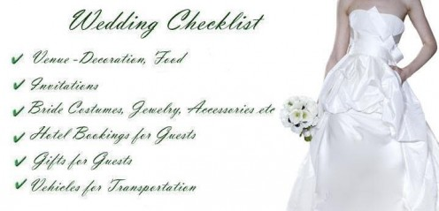 Wedding Planner Checklist  for Christian Bride