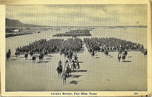 CAVALRY REVIEW, FORT BLISS, TEXAS