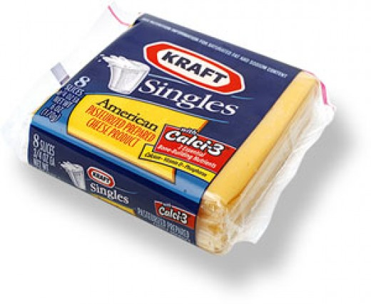 """Give me some pre-packed cheese slices,"" said Tom craftily."