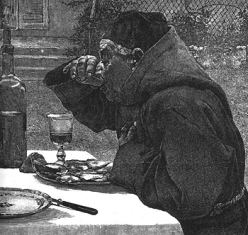 Litograph, Les Mangeurs d'Huitres, 1825