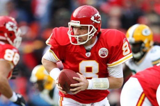 Kyle Orton threw for 300 yards and led the Chiefs over the unbeaten Packers in his first start with the team