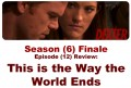Dexter review, Season (6) Finale Episode - This is the way the world ends.