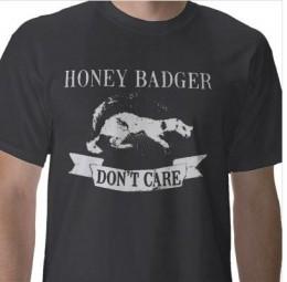 Honey Badger Dark TShirt