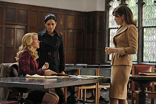 "Margulies tries to stand on her own in ""The Good Wife."""