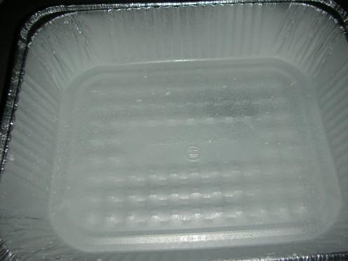 Greased pan