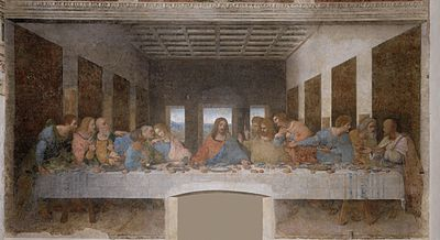 Leonardo DaVinci's painting, The Last Supper
