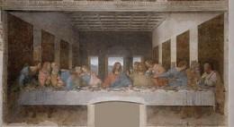 Leonardo DaVinci's painting, The Last Supper