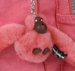 Pink Kipling Monkey