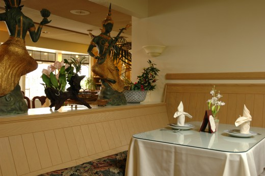 If your Valentines Day dinner is going to be at a restaurant, try to get a corner booth or table.