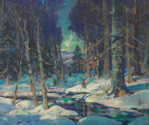 "Thomas P. Barnett ""Mid-Winter"" 1929"