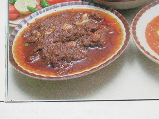 Cashew Nuts Meat Curry