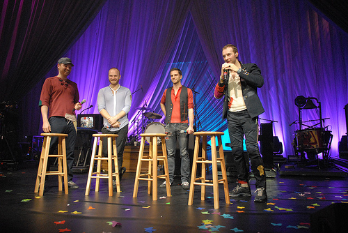 the band members of Coldplay.
