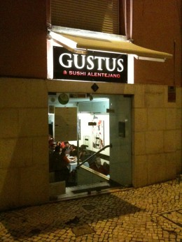 Right outside of Gustus