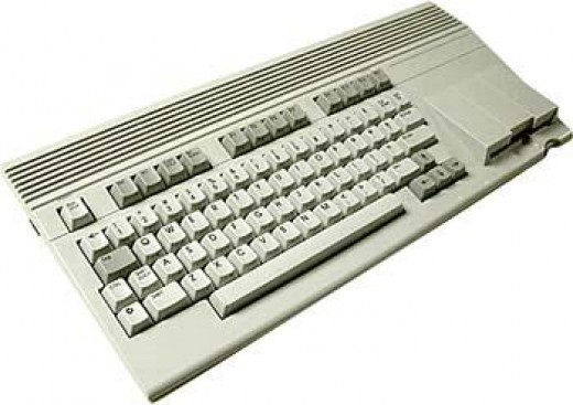 Note the similarity of the C65 to the Commodore Amiga