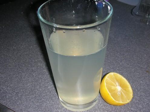 My homemade lemonade