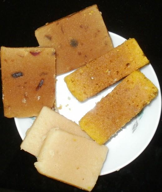 Mysore pak, milk peda