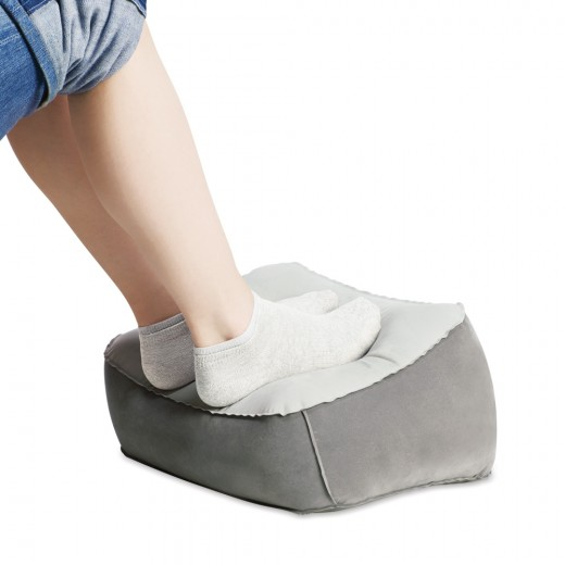 Design Go Inflatable Foot Rest Pillow