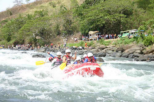 White-Water Rafting at Cagayan de Oro (CDO)