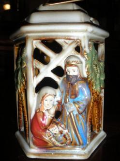 Nativity Tea Light Holder