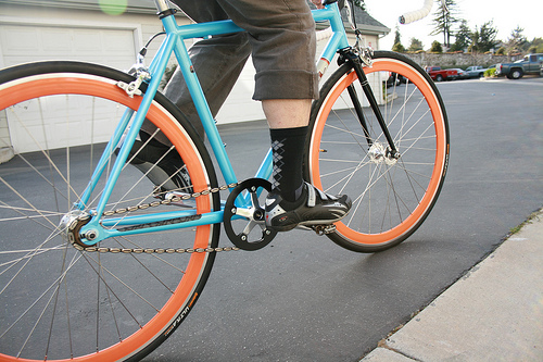 Fixed gear cycling for imporved fitness and performance.