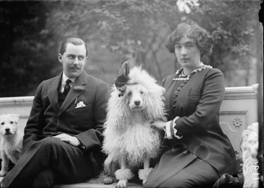 Edward Beale McLean and his wife Evalyn Walsh