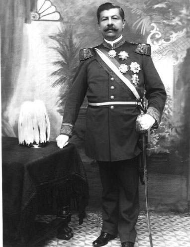 Juan Vicente Gomez of Venezuela, upon whom Marquez in part modeled the patriarch of the novel