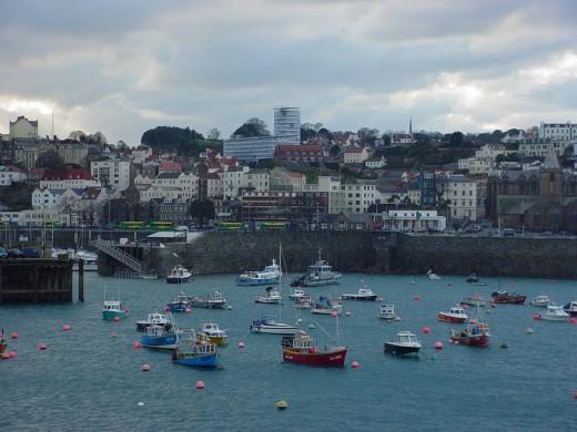 Port of St. John in Guernsey