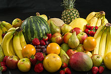 Fruits are especially important during the winter months.