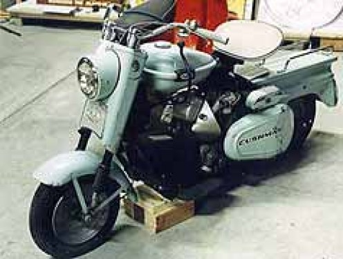 1965 Cushman Scooter