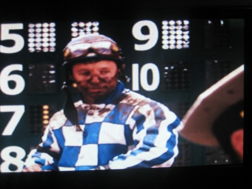 Ronnie Tulcotte in the movie Secretariat (Photo by Travel Man)