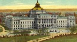 Main Library of Congress Building at the start of the twentieth century