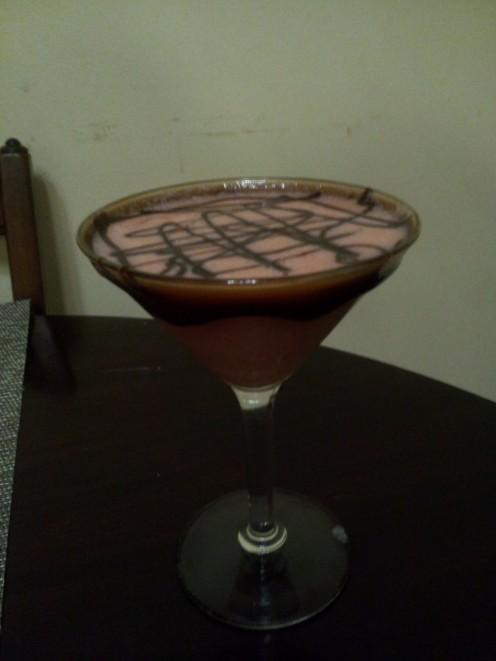 Couch's White Choco-Raspberry-Tini