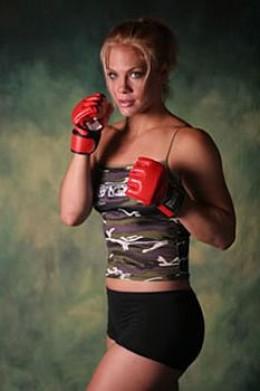 "Julie ""Fireball"" Kedzie - female mma fighters"