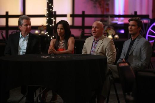 Judges Hugh, Padma, Tom and Dean